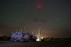 Role of Georgia in the War in Afghanistan (2001–14) - The U.S. and Georgian forces on a patrol base in Helmand province. April 17, 2012.