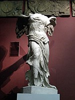 Nike of Samothrace (casting in Pushkin museum) 01 by shakko.jpg