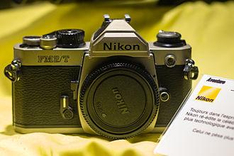 Nikon FM2 - The FM2/T titanium version.