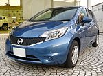 Nissan NOTE X V Selection+ Safety (E12) front.jpg