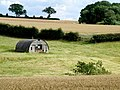 Nissen style hut, near Fulletby - geograph.org.uk - 1416370.jpg