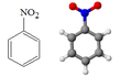 Nitrobenzene struttura modello.PNG