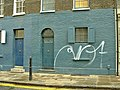No 11 and No Eleven and a Half Fournier Street, Spitalfields - geograph.org.uk - 308980.jpg