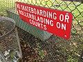 No skateboarding or rollerblading on courts (27119050124).jpg