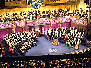 Award Ceremony of the Nobel Prize 2010 at the ...