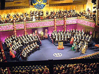 Culture of Europe - Nobel Prize ceremony