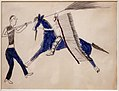 Nord o sud dakota, hunkpapa lakota, disegno da libro mastro, forse da toro seduto, 1900 ca. 03.jpg