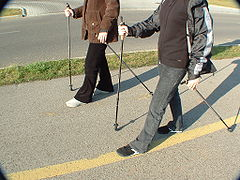 Nordic walking in Hungary.JPG