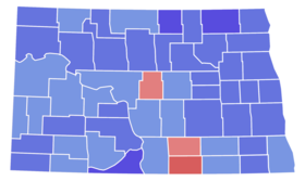 North Dakota Senate Election Results by County, 1970.png