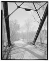 North approach. - River Vale Bridge, Spanning White River on County Road 27, Bedford, Lawrence County, IN HAER IND,47-BED.V,2-7.tif