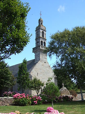 Landunvez - The church of Our Lady of Kersaint