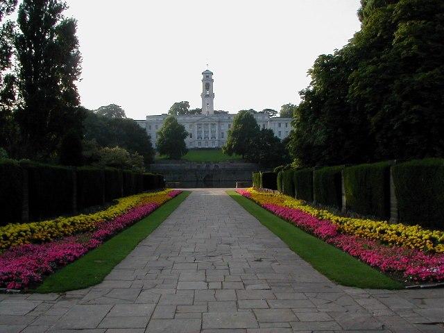 Nottingham University from Highfields Park - geograph.org.uk - 54074