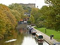 Nottingham castle and canal - geograph.org.uk - 1044164.jpg