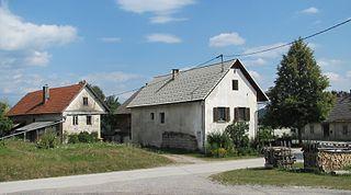 Novi Lazi Place in Lower Carniola, Slovenia
