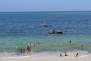 Nyali Beach from the Reef Hotel during high tide in Mombasa, Kenya 20.jpg