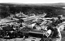 Nykroppa Jernværk i 1930'erne.