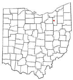Location of Fairlawn, Ohio