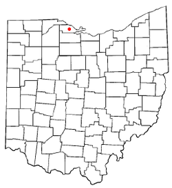 Location of Oak Harbor, Ohio