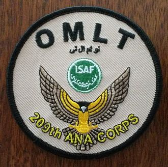 Operational Mentoring and Liaison Team - OMLT badge