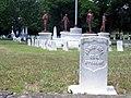 Oakwood Cemetery gravestone 2006-07-03.jpg