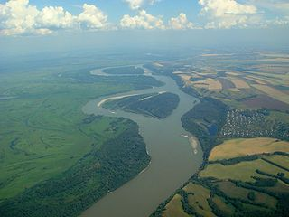 Ob River river in Russia, the second longest river in Asia