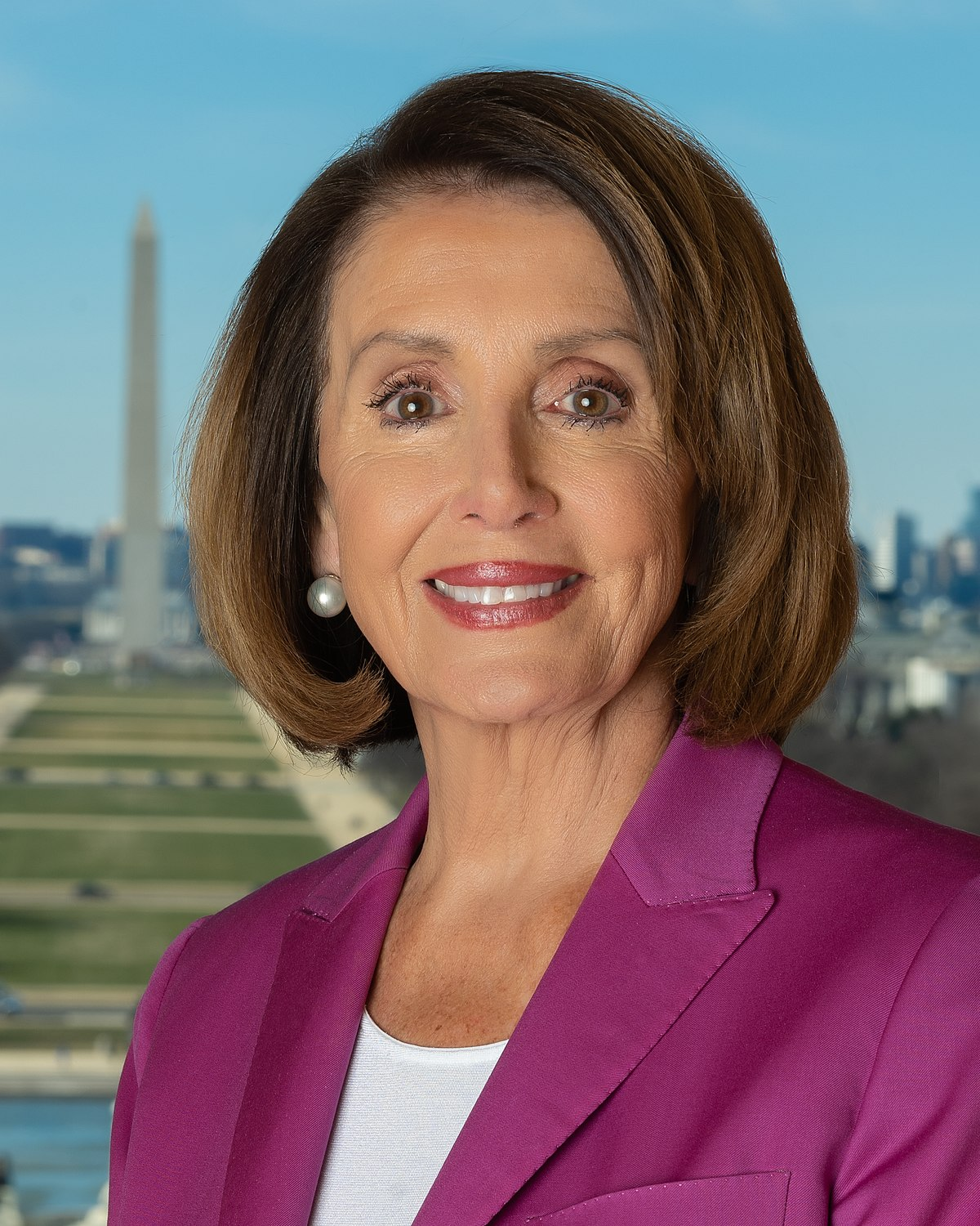 Official photo of Speaker Nancy Pelosi in 2019.jpg
