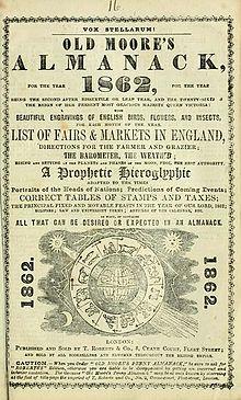 Old Moore's Almanack - Wikipedia