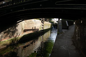 Hertford Union Canal - Hertford Union Top Lock No. 1