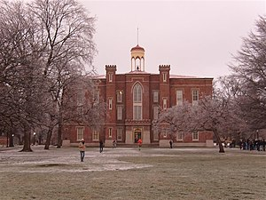 Knox College (Illinois) - Old Main, the oldest building on the campus of Knox College