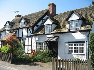 Eardisley village in the United Kingdom