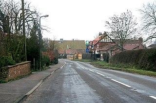Old Somerby Village near Grantham, Lincolnshire, England