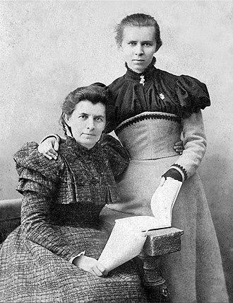Olena Pchilka - Olena Pchilka with Lesya Ukrainka
