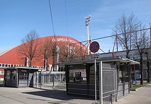 Eurovision Song Contest 2003 - Skonto Hall, Riga - host venue of the 2003 contest.
