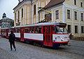 Olomouc, nám. Republiky, tramvaj.jpg