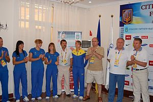 Olympic champions in the Ukrainian Embassy in Beijing.jpg