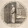 One Begs in Vain at the Door of the Deaf, from Twelve Flemish Proverbs MET DP818323.jpg