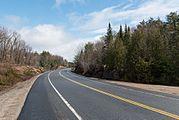 Ontario Highway 60 in Algonquin Provincial Park 20170421 1.jpg