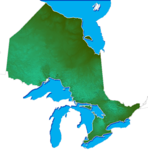 Geography of Ontario - Relief of Ontario
