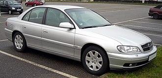 GM V platform (1966) - Opel Omega B (1999–2003)
