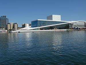 Bjørvika - Oslo Opera House