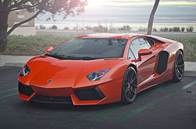 Orange Lamborghini Aventador on HRE Wheels (12167671043).jpg