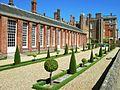 Orangery garden, Hampton Court.JPG