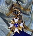 Order of the Three Stars grand cross badge (Latvia before 1940) - Tallinn Museum of Orders.jpg