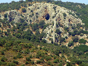 The Mask of Orpheus - The cave of Orpheus' oracle in Antissa, Lesbos