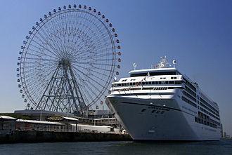 Minato-ku, Osaka - Kaiyukan Ferris wheel