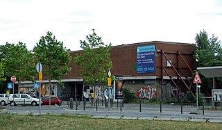 railway station in Frankfurt, Germany