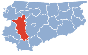 Ostróda County - Image: Ostroda County Warmia Masuria