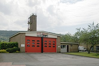 Otley fire station Otley fire station - geograph.org.uk - 188176.jpg