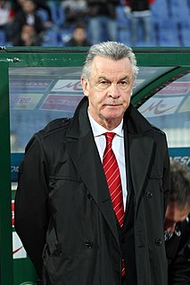 Ottmar Hitzfeld German footballer and football coach