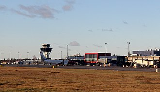 Oulu Airport - Image: Oulu Airport 20131020